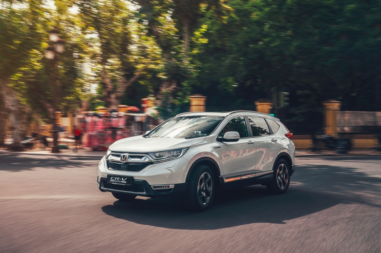 L'ICONIQUE HONDA CR-V PASSE A L'HYBRIDE