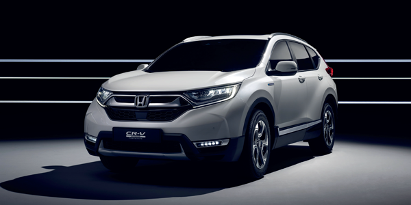 The new Honda CR-V Hybrid – space and refinement