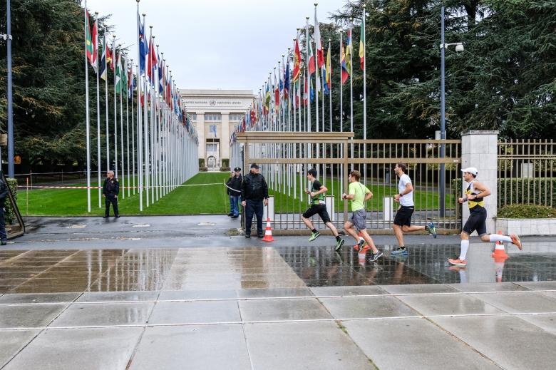 Escale inédite à l'ONU